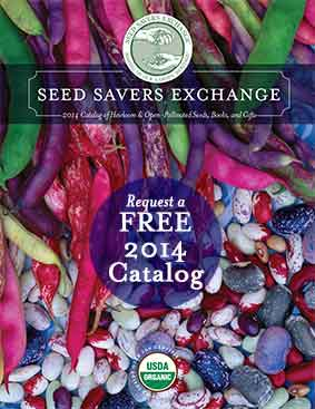 Seed Savers Exchange 2014 Catalog Cover , Click Here to Visit