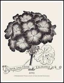 Flower and Herb Exchange Cover
