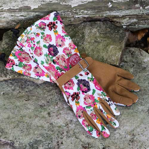 Womens Glove with Arm Saver