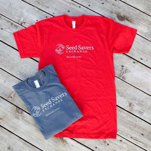 Short-sleeved T-shirt, Red/Gray