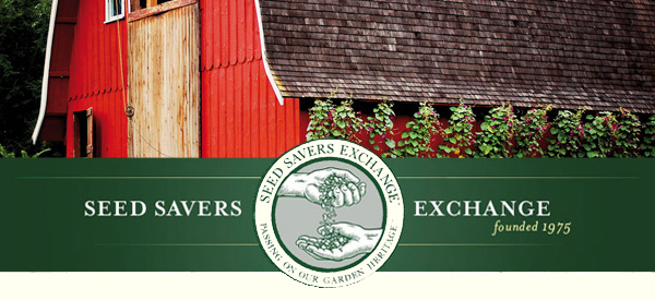 Seed Savers Exchange barn-banner