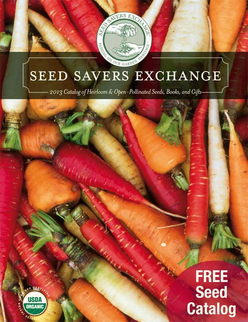 Request free Seed Savers Exchange 2013 catalog
