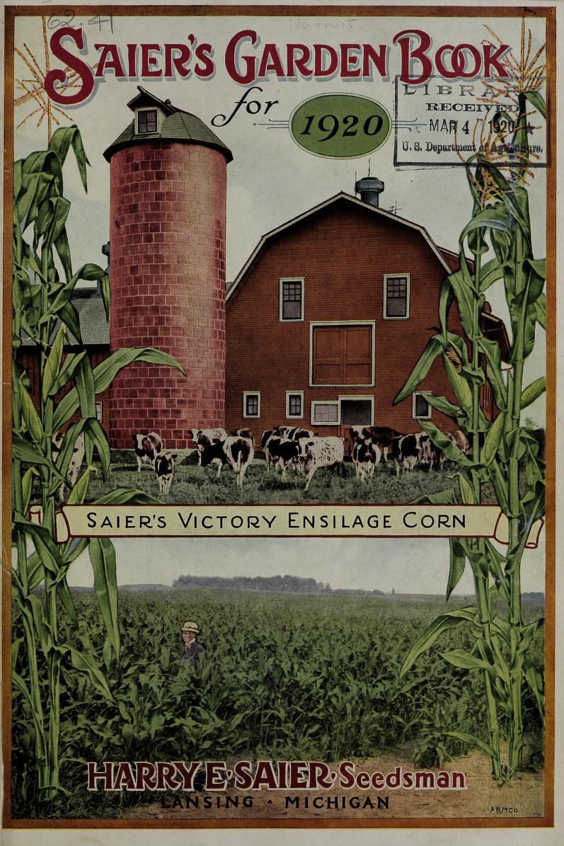 Saier's Garden Book catalog