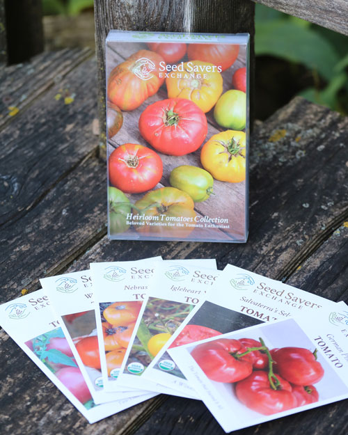 Seed Collection Tin Heirloom Tomatoes