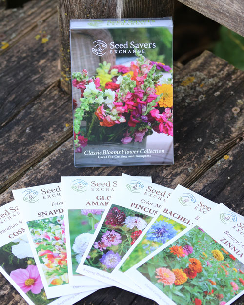 Classic Blooms Seed Collection