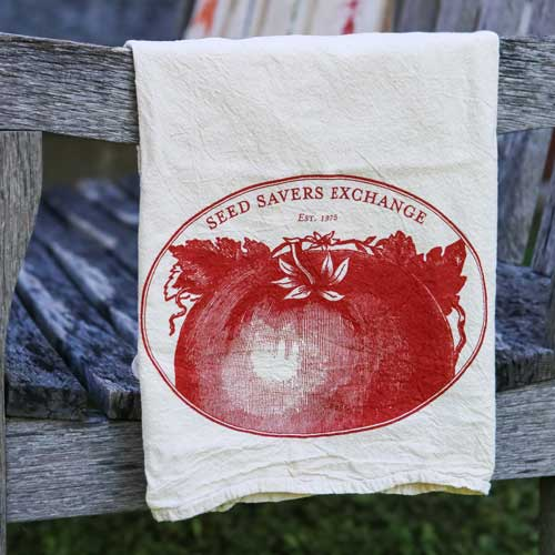 Heirloom Tomato Flour Sack Towel