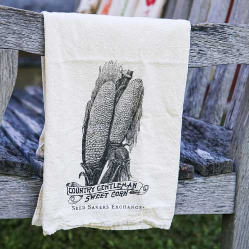 Country Gentleman Corn Flour Sack Towel