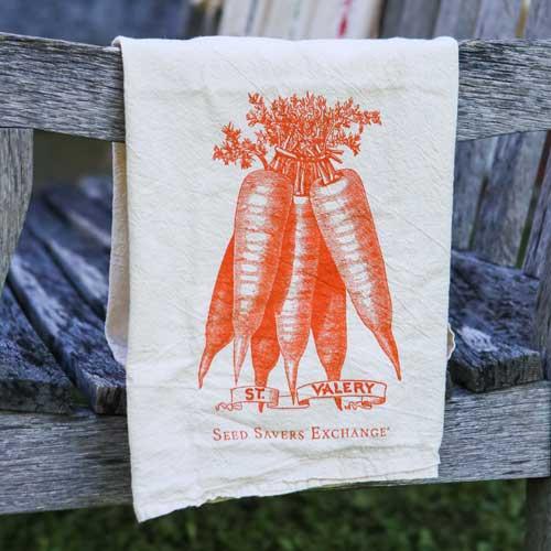 St. Valery Carrot Flour Sack Towel