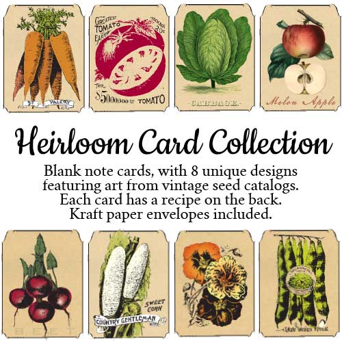 Seed Savers Heirloom Card Collection