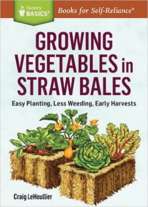 Growing Vegetables in Straw Bales :