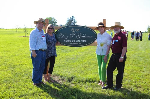 Orchard Dedication